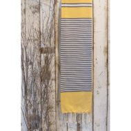 fouta collection nautic_jaune_allia designetcultures